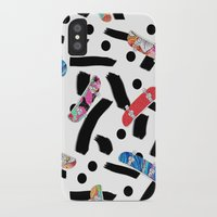 skate iPhone & iPod Cases featuring Skate by Lara Gurney