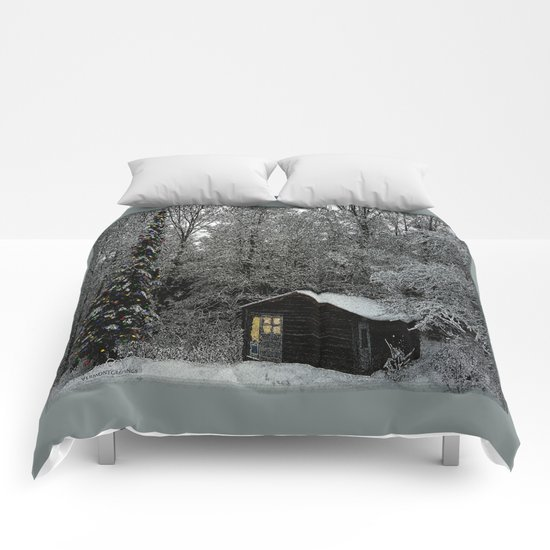 Winter Wonderland at Christmas  Comforters