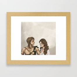 Peter and Wendy Framed Art Print