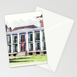Ducros House, Thibodaux, Louisiana Stationery Cards