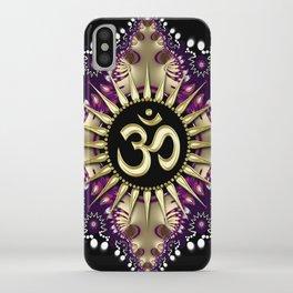 Golden Berry Om Sunshine iPhone Case