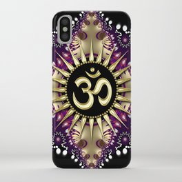 Golden Berry Om Sunshine iPhone Case