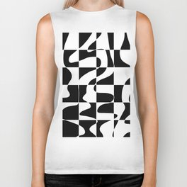 It's Not Always So Black And White Biker Tank