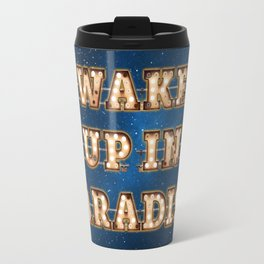 Wake up in Paradise -  Wall-Art for Hotel-Rooms Travel Mug