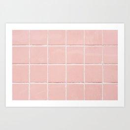 Pink Wall Kunstdrucke