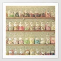 Sweet Shop Art Print