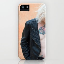 In a Flat Field iPhone Case
