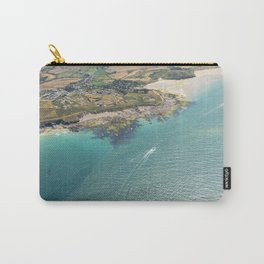Aerial Views of the mouth of the River Camel, Padstow, Cornwall Carry-All Pouch