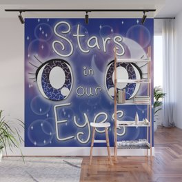 Stars In Our Eyes Wall Mural