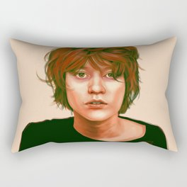 Take a look in the mirror Rectangular Pillow
