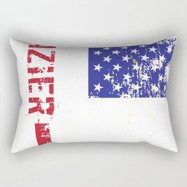 Glazier US FLag Rectangular Pillow