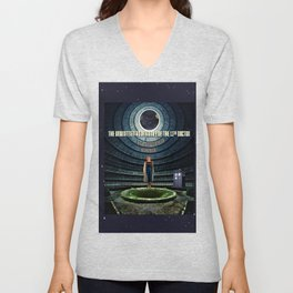 Doctor Who and the Abandoned Power Plant Unisex V-Neck