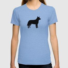 Australian Cattle Dog Silhouette(s) T-shirt