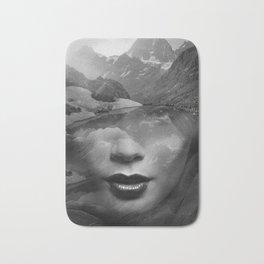Mountain lady Bath Mat