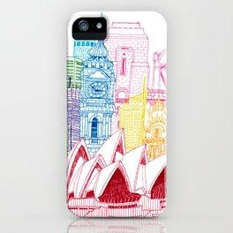 Sydney Towers iPhone Case