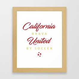 California Brava Framed Art Print