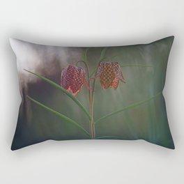 Silent, Happy Morning. Rectangular Pillow