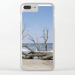 Drifwood Clear iPhone Case