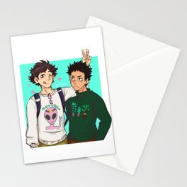 Iwaoi Sweaters Stationery Cards