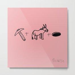 Artist Series: Picasso Rose Period Metal Print