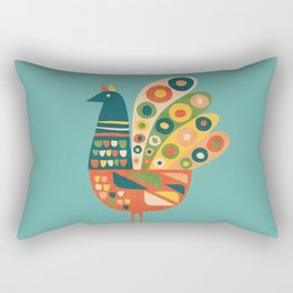 Century Hen Rectangular Pillow