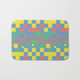 Pixel squares Bath Mat