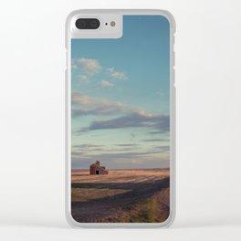 Grain Elevator 16 Clear iPhone Case