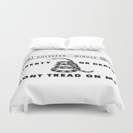 Historic Culpeper Minutemen flag Duvet Cover
