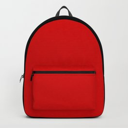 Psychedelic black and red stripes VII. Backpack