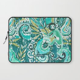 MONKEY TRICKSTER - JADE Laptop Sleeve