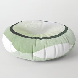 bruised circle Floor Pillow