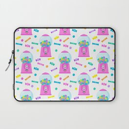 Pink Candy Dispenser – Rainbow Candy Shop Pattern Laptop Sleeve