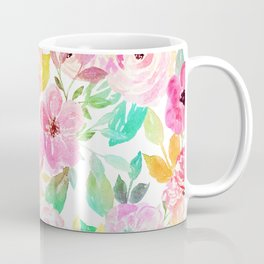 Classy watercolor hand paint floral design Coffee Mug