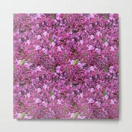 Amid the Lilacs Metal Print