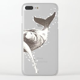 Finding Moby Clear iPhone Case