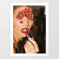 i'm only human Art Print