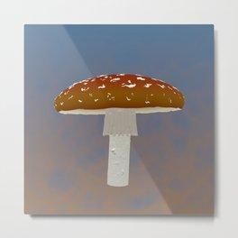 Fairy Mushroom Metal Print