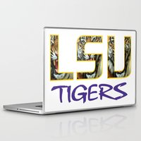decal Laptop & iPad Skins featuring LSU NEW DECAL by The Greedy Fox
