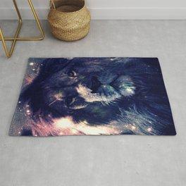 Leo Lion : Deep Pastels Rug