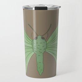 Emerald Moth Travel Mug