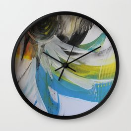 Space and colour 1 Wall Clock