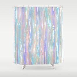 Tropical Blue Shower Curtain