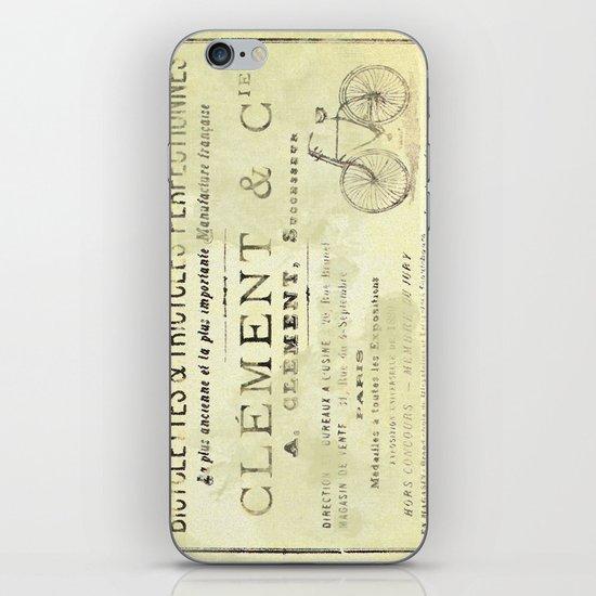 Bicyclette iPhone & iPod Skin