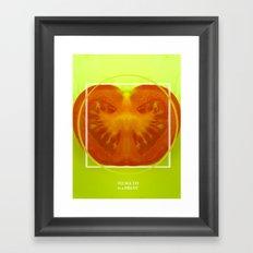 To Ma To Framed Art Print