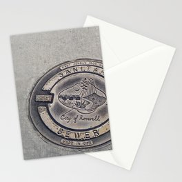 Alien Iron Works Stationery Cards