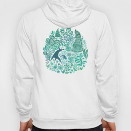 Forest Wolf Hoody