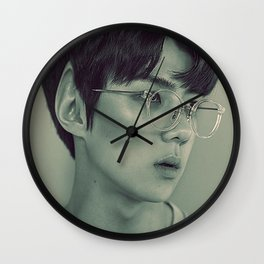 Elf Sehun Wall Clock