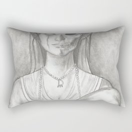 Lady Constance Rectangular Pillow