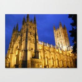 Canterbury Cathedral, Canterbury England Canvas Print