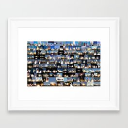 Crewed flights to space launched from the United States Framed Art Print